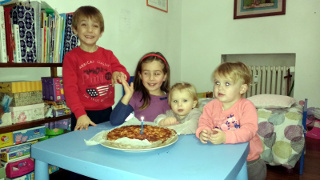 Lorenzo, Anna, Marta e Bea