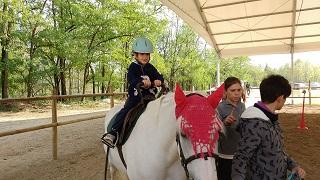 Lorenzo a cavallo
