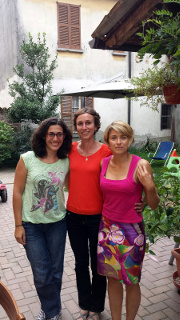 Silvia, Dany e Sara